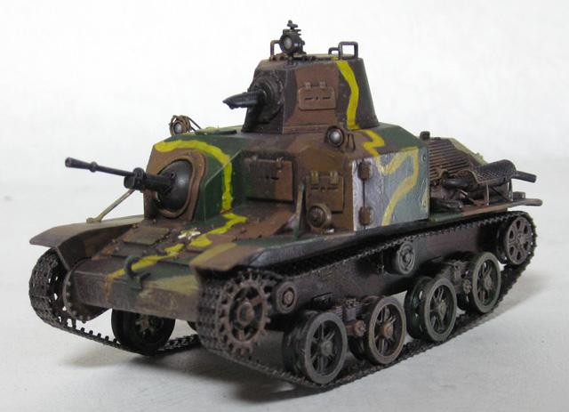 1/35 92式重装甲車 - モデリング...