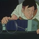 メガネメガネ。燃料棒が全体映るシーンがここくらいしかないのだ(笑)