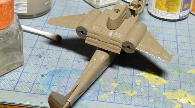 1/72 キュレイユ MP-2 デューイ戦闘ヘリ(1)