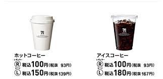 セブンイレブンのコーヒーについて。