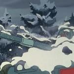 雪の中から出てくる。何メートル積もってるんだよ…