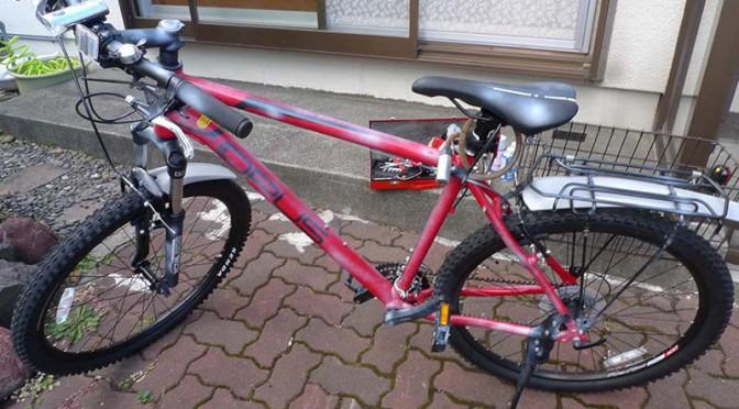 2019_0822日記 自転車修理