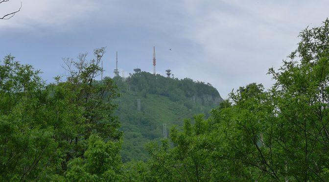 2020_0614日記 初夏の手稲山