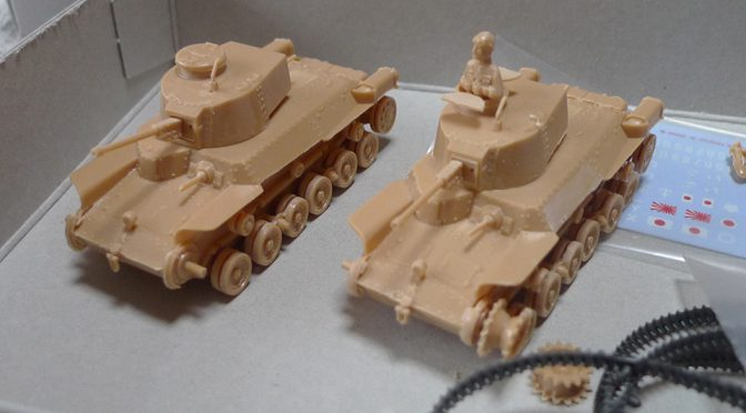 1/76 フジミ 日本陸軍 97式中戦車改(1)